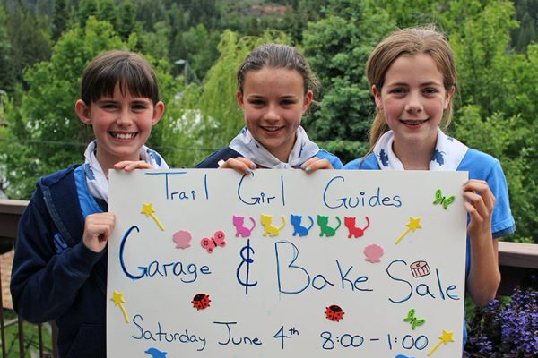 Girl Guides Garage Sale