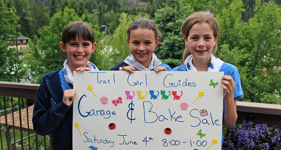 Girl Guides Garage & Bake Sale – June 4th