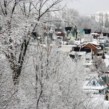 Upper Warfield in Winter Time