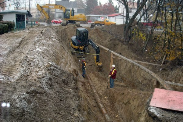 Village of Warfield Public Works Pipe Replacement