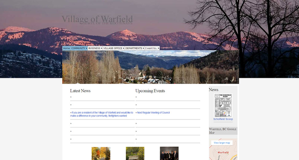 The Village Of Warfield Prepares To Launch New Village Website