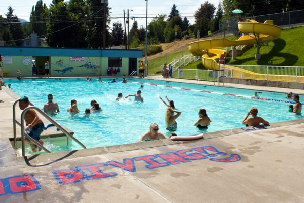 Warfield Centennial Pool Grant Success
