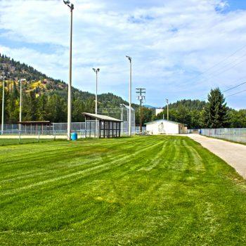 Warfield Haley Field Entrance