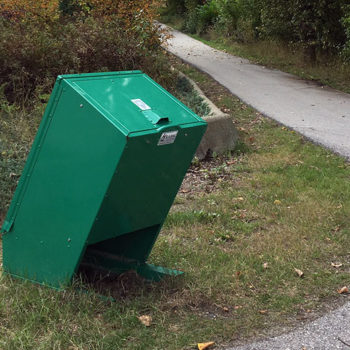 Bear Proof Garbage Can