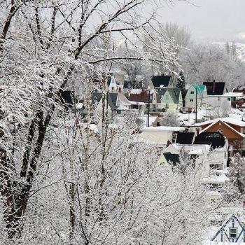 Village of Warfield Winter